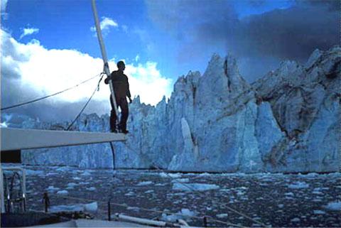 Amyr Klink na Antártida