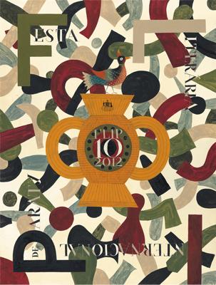 Cartaz 10 edição FLIP FLIP 2012   10ª edição da Festa Literária Internacional de Paraty