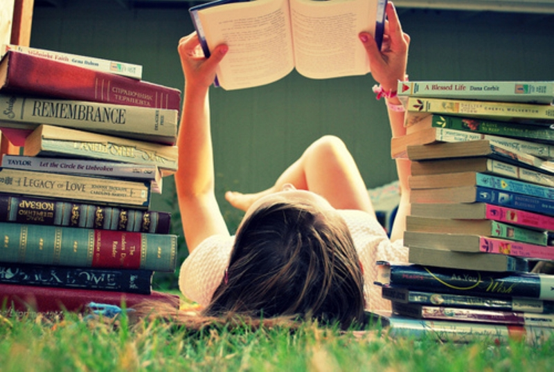 Leia vários livros ao mesmo tempo!