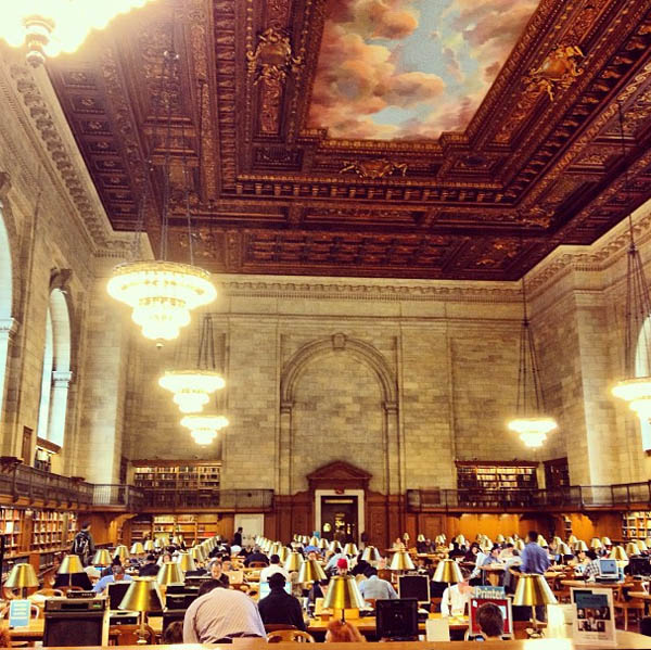 New York Public Library – Nova Iorque, Estados Unidos