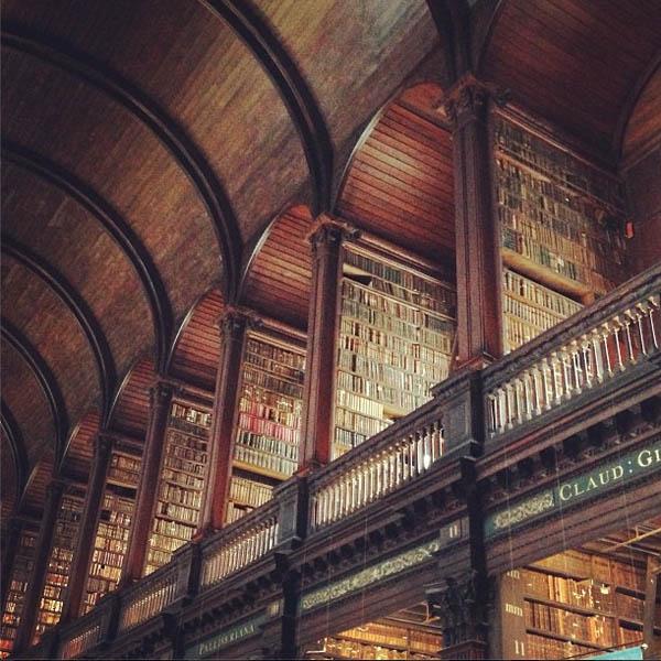 Biblioteca Trinity College – Dublin, Irlanda