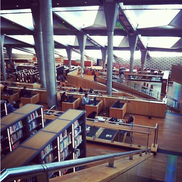 Biblioteca de Alexandria – Alexandria, Egito