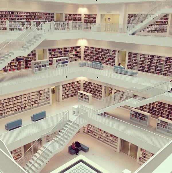 Biblioteca de Stuttgart – Stuttgart, Alemanha