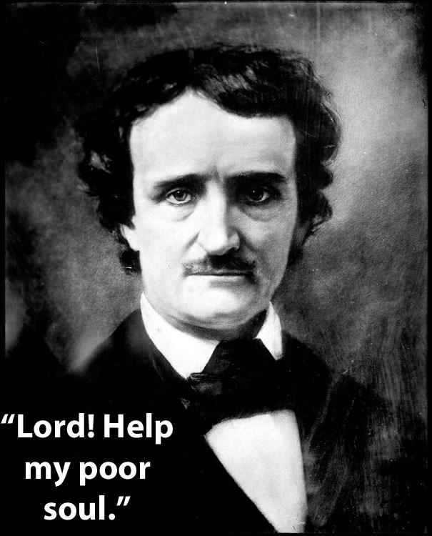 frase de Edgar Allan Poe