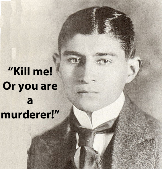 frase de Franz Kafka
