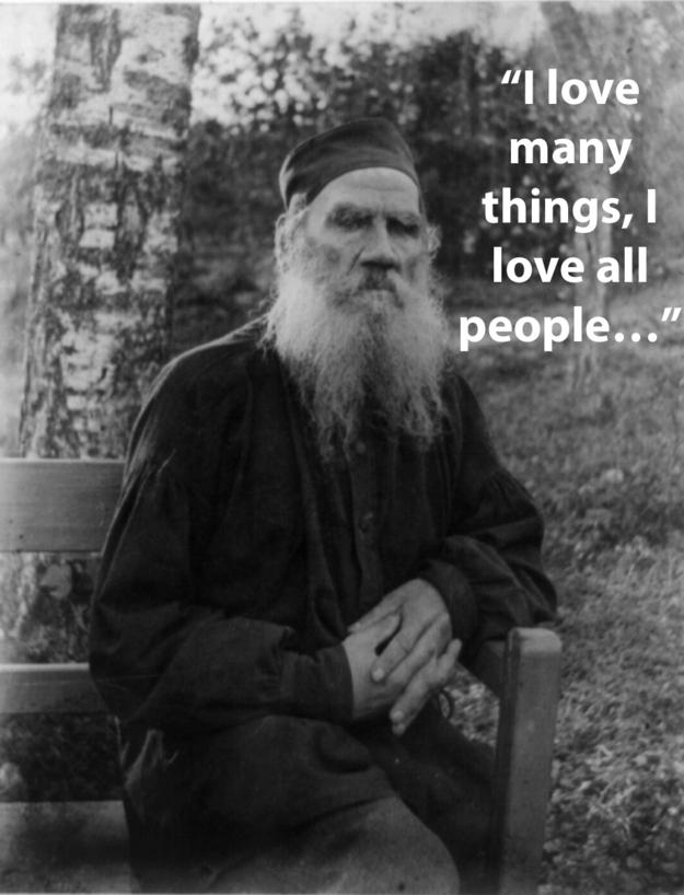 frase de Leo Tolstoy