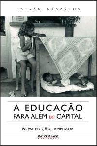 """livro """"A Educação Para Além do Capital"""", de István Meszáros"""