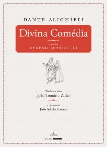 """livro """"A Divina Comédia"""", de Dante Alighieri"""