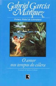"""Livro """"Amor nos Tempos do Cólera"""", de Gabriel García Márquez"""