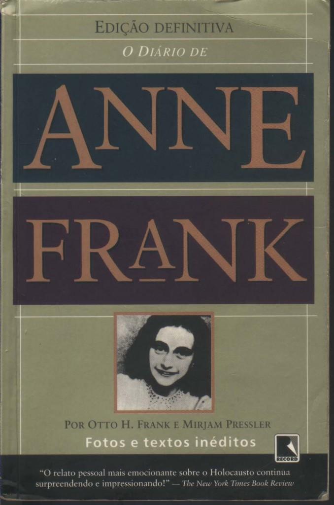 """Livro """"O Diário de Anne Frank"""""""