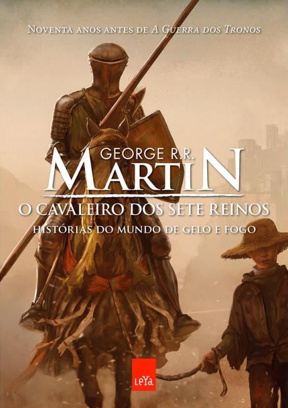 """Livro """"O Cavaleiro dos Sete Reinos"""", de George R. R. Martin"""