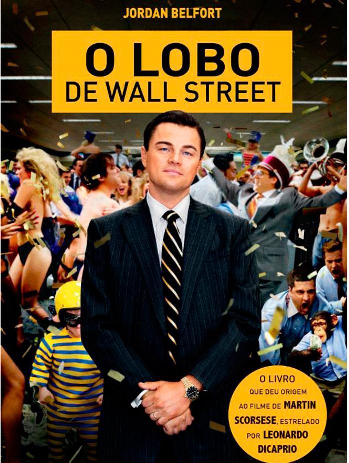 """Livro """"O lobo de Wall Street"""", de Jordan Belfort"""