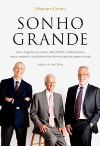 "Livro ""Sonho Grande"", de Cristiane Correa"
