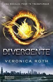 """Livro """"Divergente"""""""