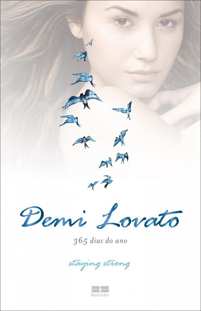 """Livro """"365 Dias do Ano"""", de Demi Lovato"""