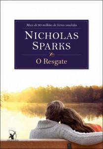 """livro """"O Resgate"""", de Nicholas Sparks"""